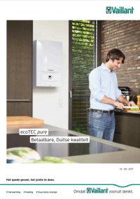 Brochure Vaillant ecoTEC pure