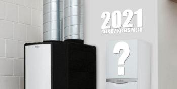 Vanaf 2021 verbod cv-ketels?